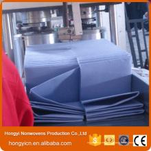 Produits de nettoyage non-tissés en tissu non-tissé, viscose et polyester
