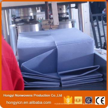 Productos de limpieza no tejidos del paño de la tela, viscosa y de poliéster de la tela no tejida