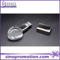 High-End Coração 8GB Mini Crystal USB Flash Drive