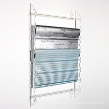 Акриловая подставка для дисплея / акриловая стенная стойка для стендов (WR-18)