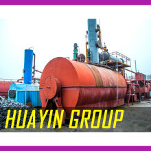 waste engine oil to diesel distillation machine factor china huayin