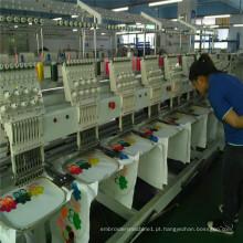 Máquina de bordar computadorizada 6 cabeça para venda tipo de acolchoado