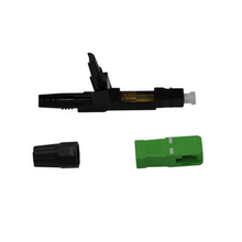 SC / APC Fiber Optic Fast Connector Untuk Kabel Drop