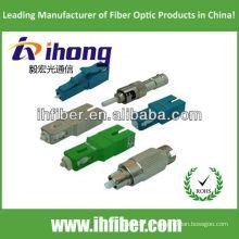 FC / LC / SC / ST Atenuador de fibra óptica macho a tipo femenino fabricante