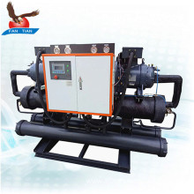 100Kw Water Cooled Screw Chiller for Electroplating