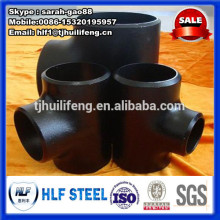 carbon steel 6 inch equal tee