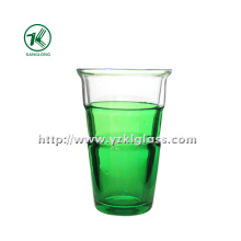 Green Double Wall Glass Bottle (8.5*6*13.5cm 345ml)