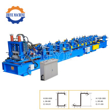 C And Z Shaped Steel Making Machine