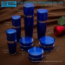 Lojas de fábrica cor frasco da loção personalizável por atacado boa qualidade high-end e frasco de creme embalagem cosméticos