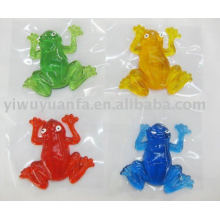 Novelty Funny Sticky Frog Toy