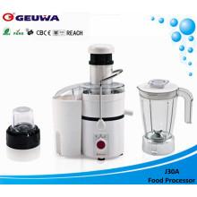 Geuwa 75mm Wide Feed Eröffnung Electric Powerful Juicer (J30A)