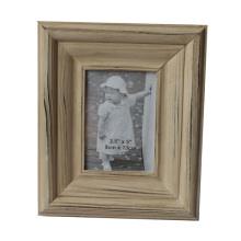 Hot Wooden Photo Frame in Beige Line