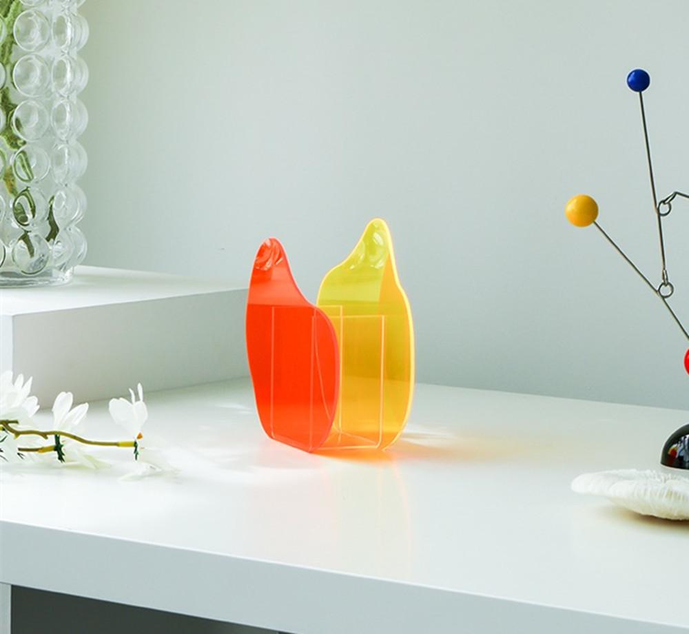 Acrylic Mordern Vase