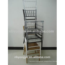 STACKABLE RESIN CHIAVARI CHAIR