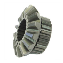 Machined Steel Bevel Double Spline Gear Factory Custom