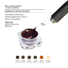 Goochie Tipo de tinta de tatuaje pigmento de pasta de maquillaje permanente