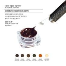 Goochie Tattoo Ink Tipo pigmento de pasta de maquiagem permanente