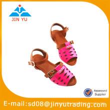 Zapato de la sandalia de la muchacha del fahsion