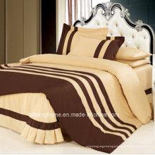 Conjunto de cama decorativa em tamanho king size / folha de cama estilo americano / Beddingset