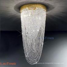 Lámparas de araña de cristal de lluvia de odeon contemporáneas