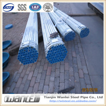 supply galvanized round steel pipe for oil and gas made in China