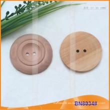 Botones de madera naturales para la prenda BN8034