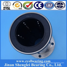 Hot sale European standard 25*40*112mm Long Type Circular Flanged linear slide motion ball bearing LMEF25UU LMEF25LUU