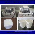 Molde plástico del envase del cubo de la pintura