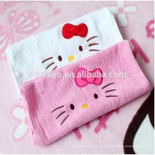 Домашний текстиль мультфильм Привет котенок банные полотенца для ванной комнаты или стиральной высохнуть на воздухе или руку или тело,полотенце для ребенка или женщину