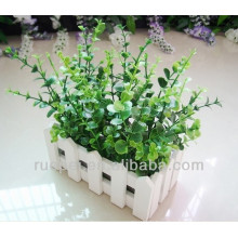 China beautiful decorative artificial grass bonsai with money leaves