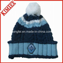 Handgefertigte Strick Warm Winter Beanies Cap