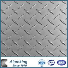 0,6 Mm Bar Hauteur Embossed Aluminium Sheet