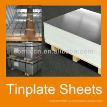 Aerossol pode produção principal do tinplate 2.8/2.8 senhor stone acabamento