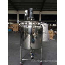 Réservoir en acier inoxydable pour le mélange
