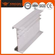 Prix de l'aluminium au fournisseur de kg, revêtement en poudre profil de porte en aluminium