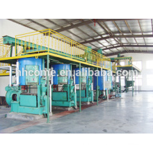 100TPD sunflower oil extraction line and 30TPD sunflower oil refining and sunflower crude oil dewaxing equipment