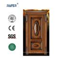 Puerta interior de madera / Puerta de madera maciza (RA-N001)