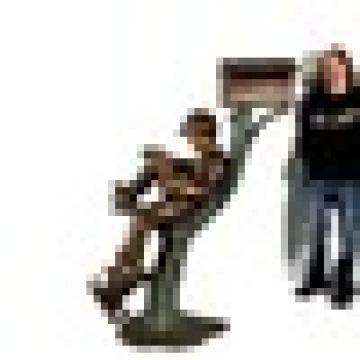 Bronze Boy und Taube Mailbox Statue