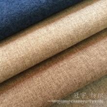 Tissu de textile de maison de regard de lin de tapisserie d'ameublement pour le sofa