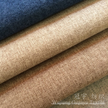 Upholstery Linen Look Home Textile Fabric for Sofa