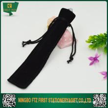 Cheap Black Velvet Pen Pouch