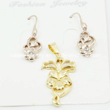 China Wholesale Fashion Plated Gold Set Jewelry