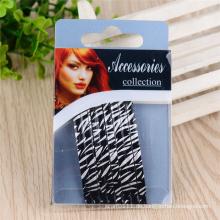 Mädchen Mode bunt lackiert 6,5 cm Metall Haar Bob Pins (JE1006-2)