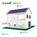 5000w système solaire hybride 5kw kit d'alimentation solaire hors réseau prix système d'éclairage domestique 5000 watts générateur solaire système hybride