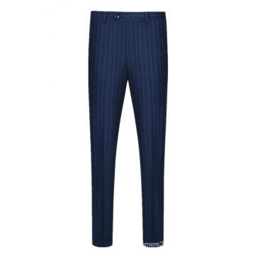 Pantalon de costume 100% laine pour hommes