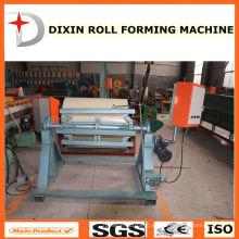 Decoiler eléctrico de la bobina del acero para el rodillo que forma la máquina
