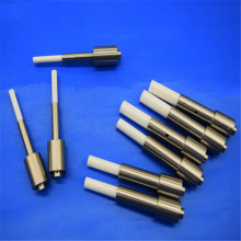 Ceramic Piston Rod / Shaft Rod With Metal