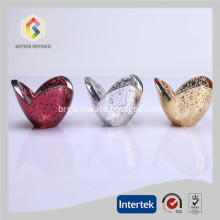 Mercury Glass Candle Holder For Decoration