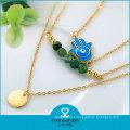 Fashion Custom Rhinestone Jewelry Cheap Price Bead Necklace (N-0294)