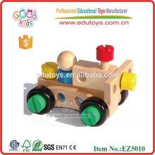 30 Pieces Changeable Nut Building Block Car